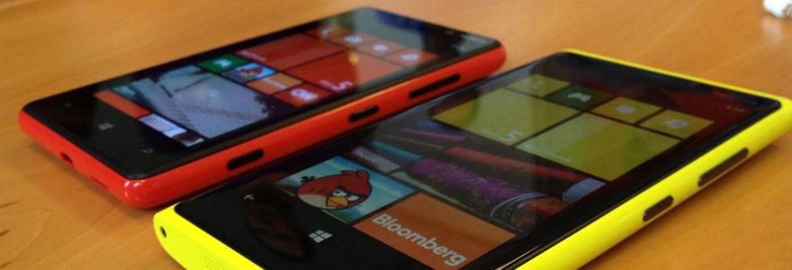 écran Lumia 520