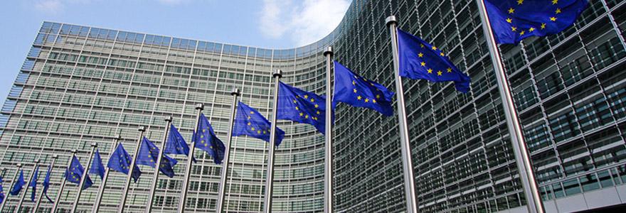 La commisssion européenne située à Bruxelles